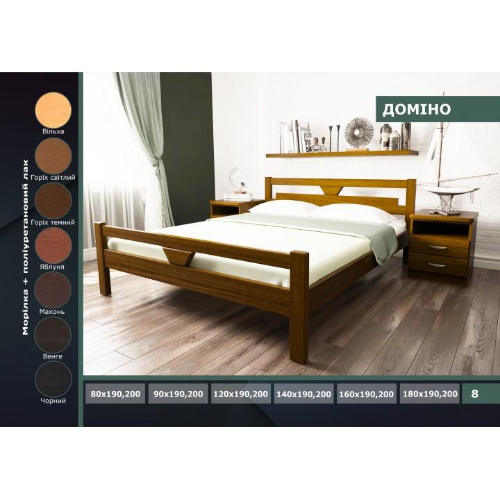 485, кровать Домино, , 3 410.00 грн, домино, ГЕРМЕС, Кровати деревянные