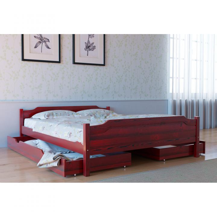 669, Кровать Л-201, , 4 415.00 грн, Кровать Л-201, Скиф, Кровати деревянные