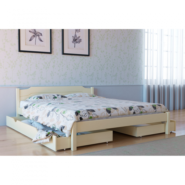 678, Кровать Л-206, , 4 196.00 грн, Кровать Л-206, Скиф, Кровати деревянные