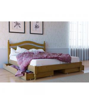 Кровать деревянная Л-208