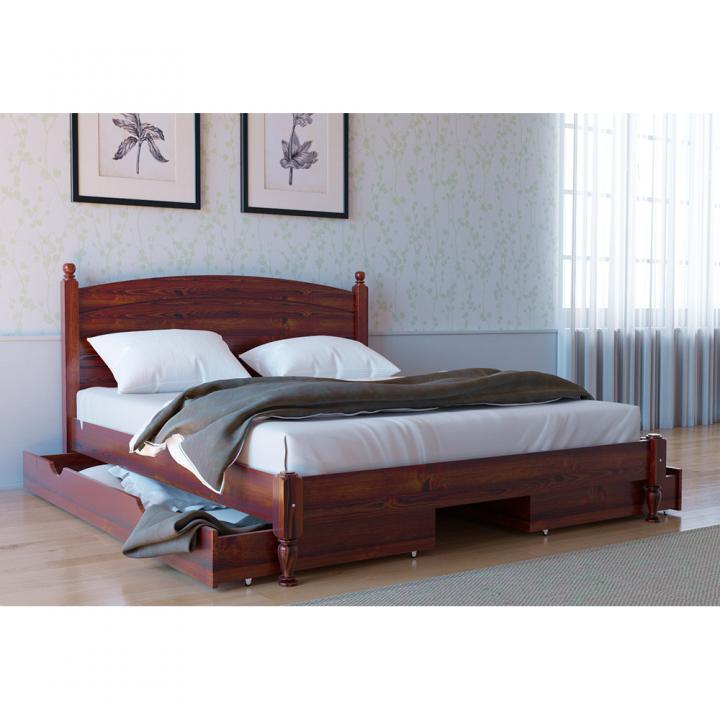 679, Кровать Л-207, , 5 970.00 грн, Кровать Л-207, Скиф, Кровати деревянные