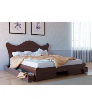 Кровать деревянная Л-217