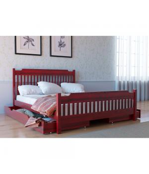 Кровать деревянная Л-212
