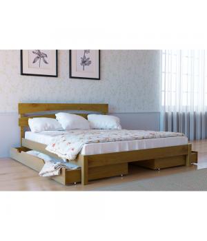 Кровать деревянная Л-214