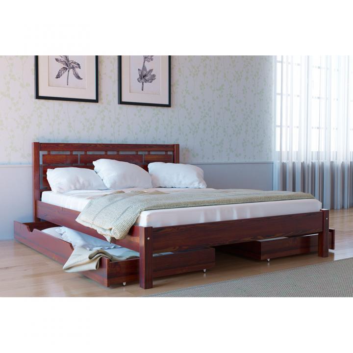 Кровать деревянная Л-219