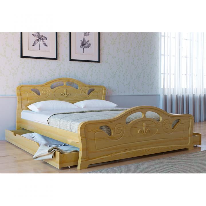 Кровать деревянная Л-221