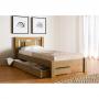 Кровать деревянная Л-121