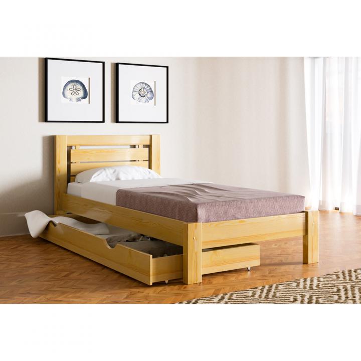 Кровать деревянная Л-122