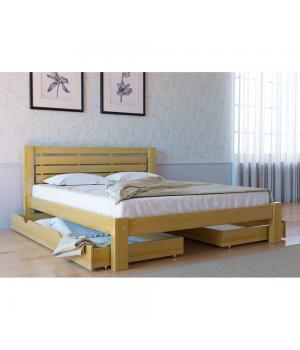 Кровать деревянная  Л-226