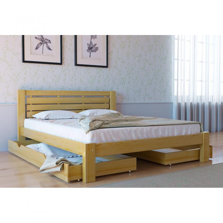 684, Кровать Л-226, , 4 493.00 грн, Кровать Л-226, Скиф, Кровати деревянные