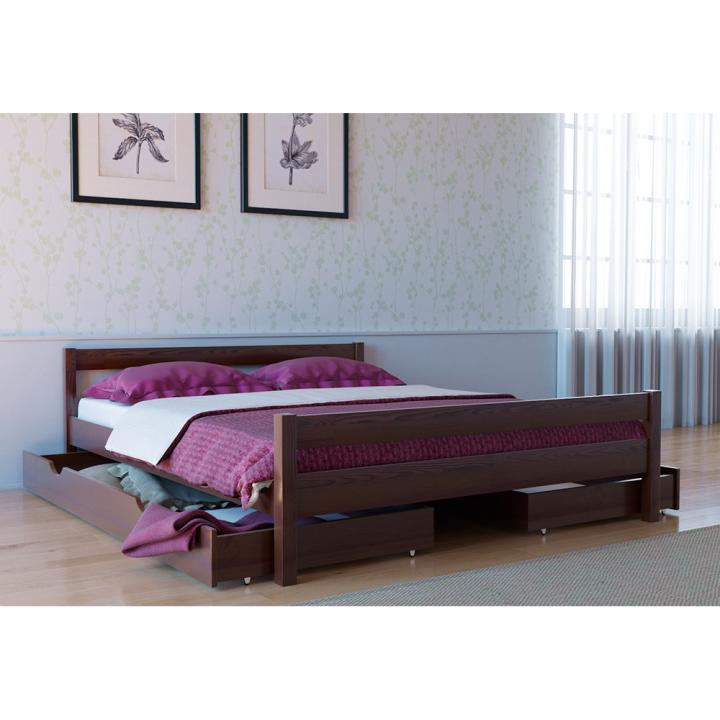 Кровать деревянная Л-220