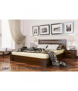 Кровать деревянная Селена