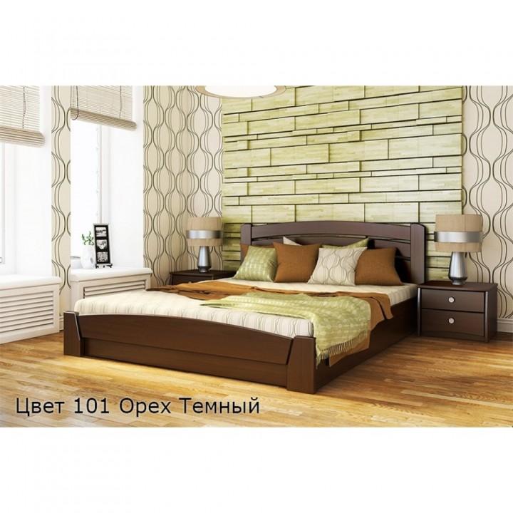 359, Кровать Селена Аури, , 9 590.00 грн, Кровать Селена Аури, ЭСТЕЛЛА, Кровати деревянные