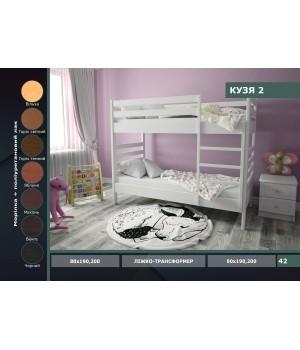 Кровать 2-х ярусная Кузя 2