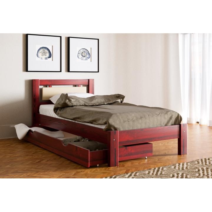Кровать деревянная Л-129