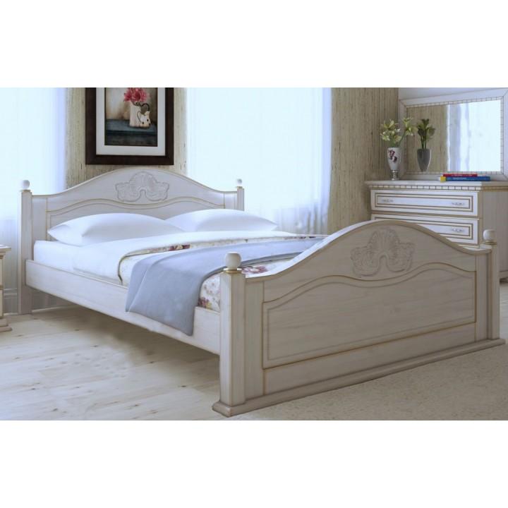 512, Кровать Афродита, , 17 535.00 грн, Кровать Афродита, ART mebli, Кровати деревянные