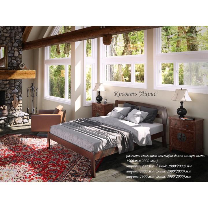 564, Кровать Айрис, , 3 222.00 грн, Кровать Айрис, TENERO, Кровати деревянные