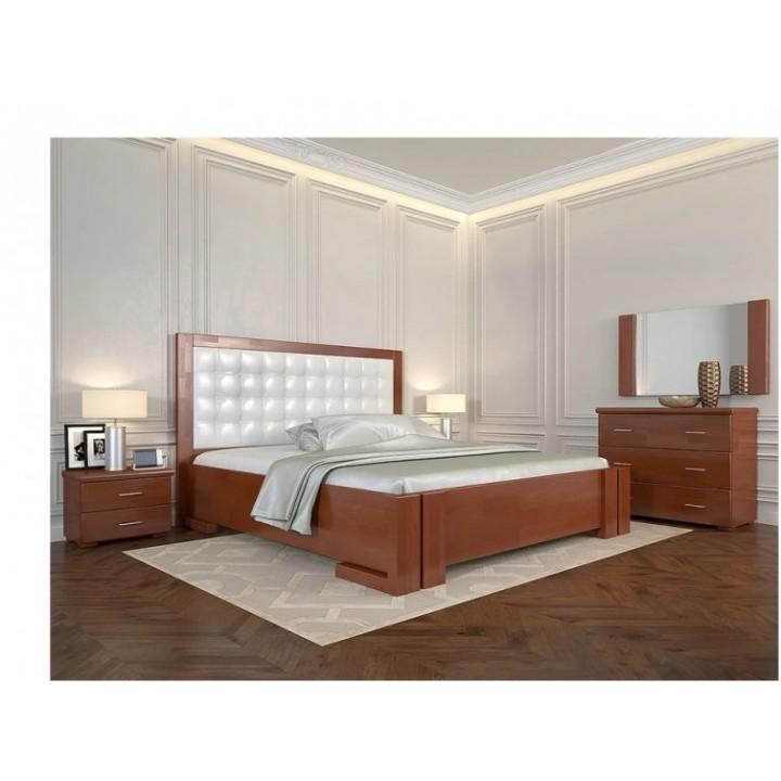 422, Кровать Амбер без ПМ, , 7 181.00 грн, Кровать Амбер без ПМ, ARBORDREV, Кровати деревянные