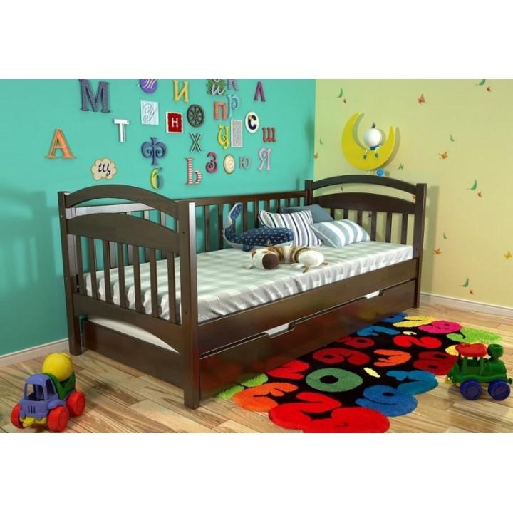 476, Кровать Алиса, , 4 604.00 грн, Кровать Алиса, ARBORDREV, Кровати деревянные