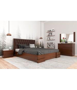 Кровать деревянная Камелия Ромб