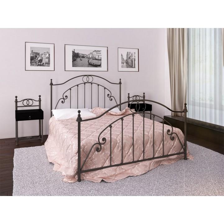 347, Кровать Firenze, , 6 638.00 грн, Кровать Firenze, Металлдизайн, Кровати металлические