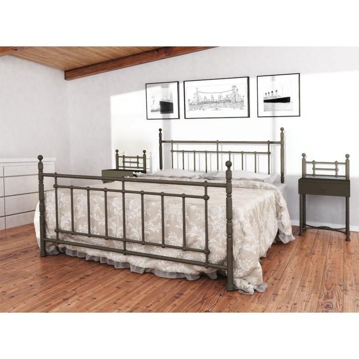 344, Кровать Napoli, , 4 481.00 грн, Кровать Napoli, Металлдизайн, Кровати металлические
