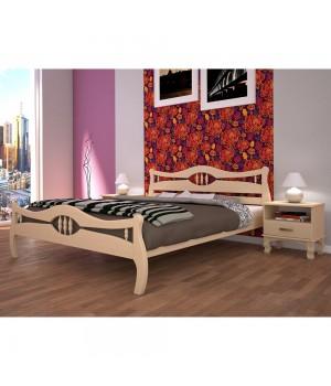 Кровать деревянная Корона 2
