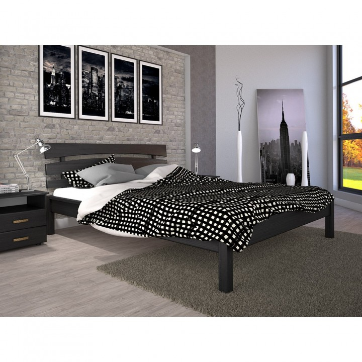 Кровать деревянная Домино 3
