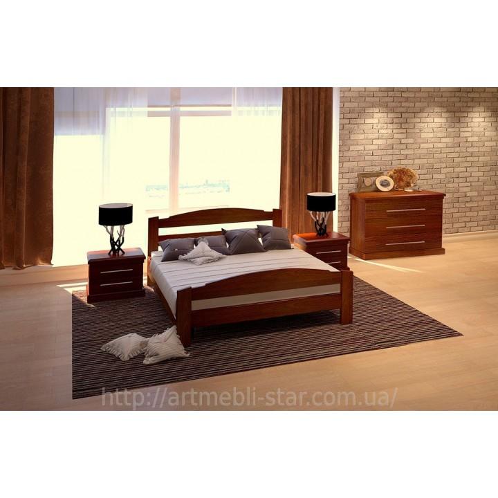 515, Кровать Эдель, , 7 523.00 грн, Кровать Эдель, ART mebli, Кровати деревянные