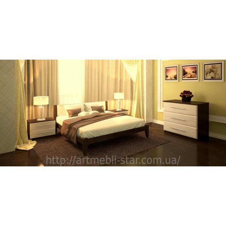 516, Кровать Фаворит, , 5 729.00 грн, Кровать Фаворит, ART mebli, Кровати деревянные