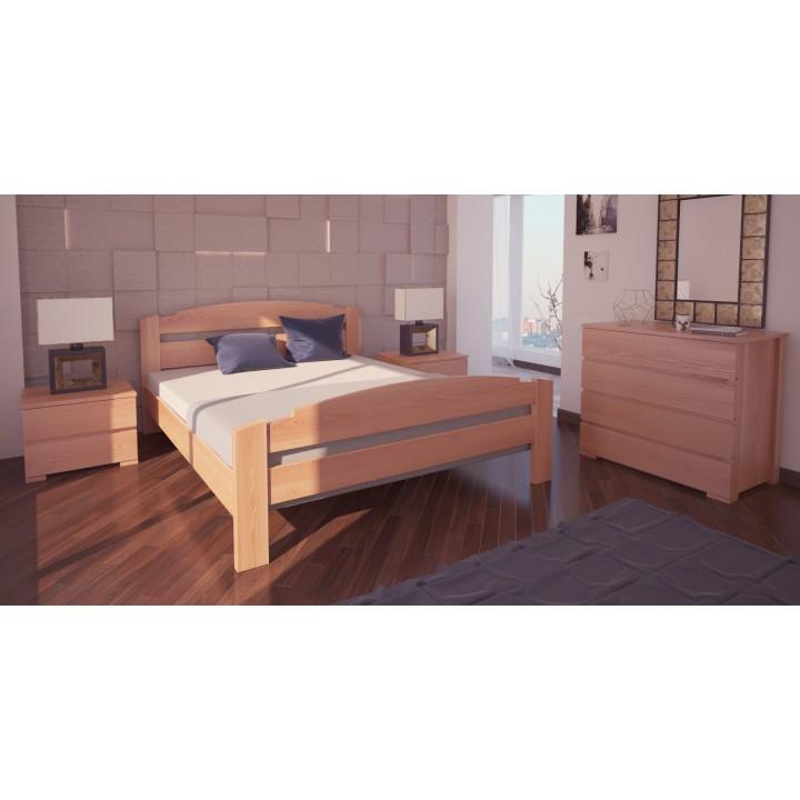 527, Кровать Гавана, , 5 185.00 грн, Кровать Гавана, ХМФ, Кровати деревянные