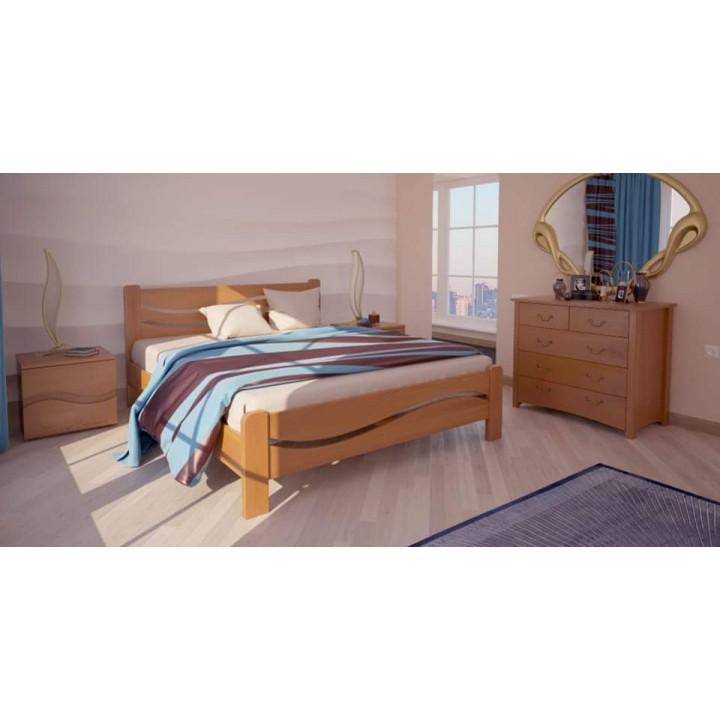 524, Кровать Женева, , 4 520.00 грн, Кровать Женева, ХМФ, Кровати деревянные