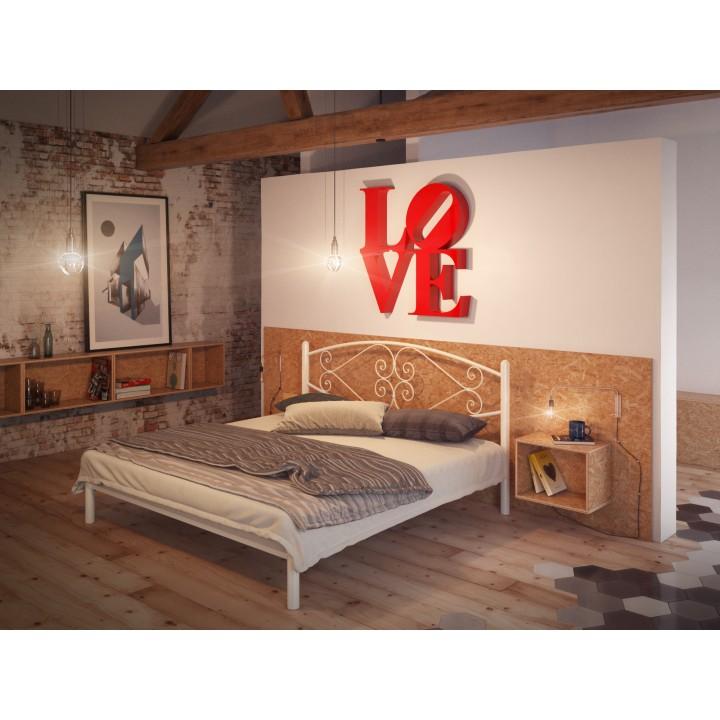 698, Кровать Камелия, , 3 102.00 грн, Камелия, TENERO, Кровати металлические