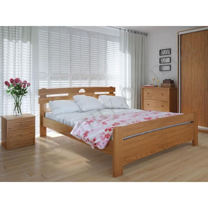 583, Кровать Кантри, , 5 522.00 грн, Кровать Кантри, Meblikoff, Кровати деревянные