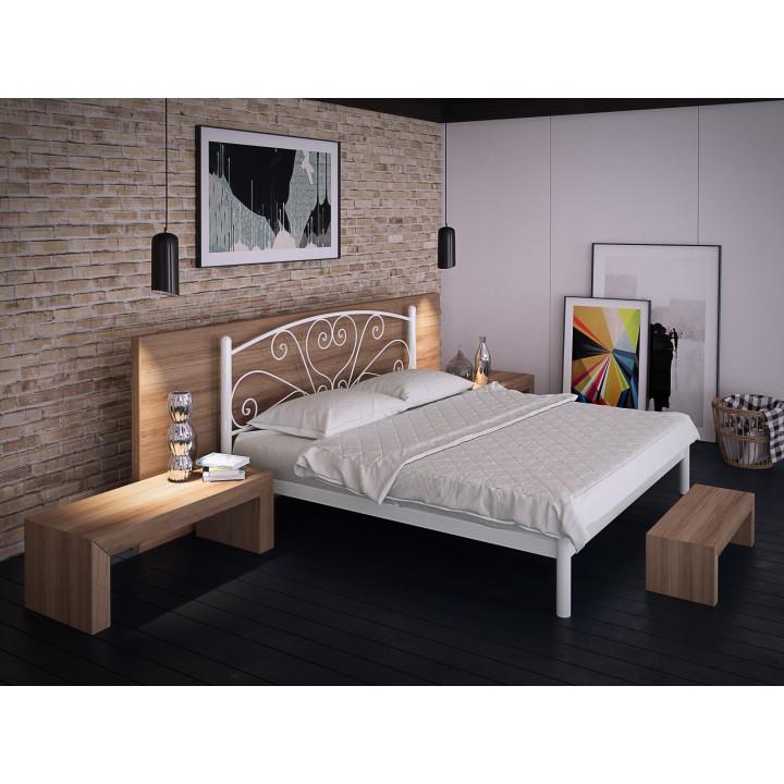 693, Кровать Карисса, , 2 933.00 грн, Карисса, TENERO, Кровати металлические