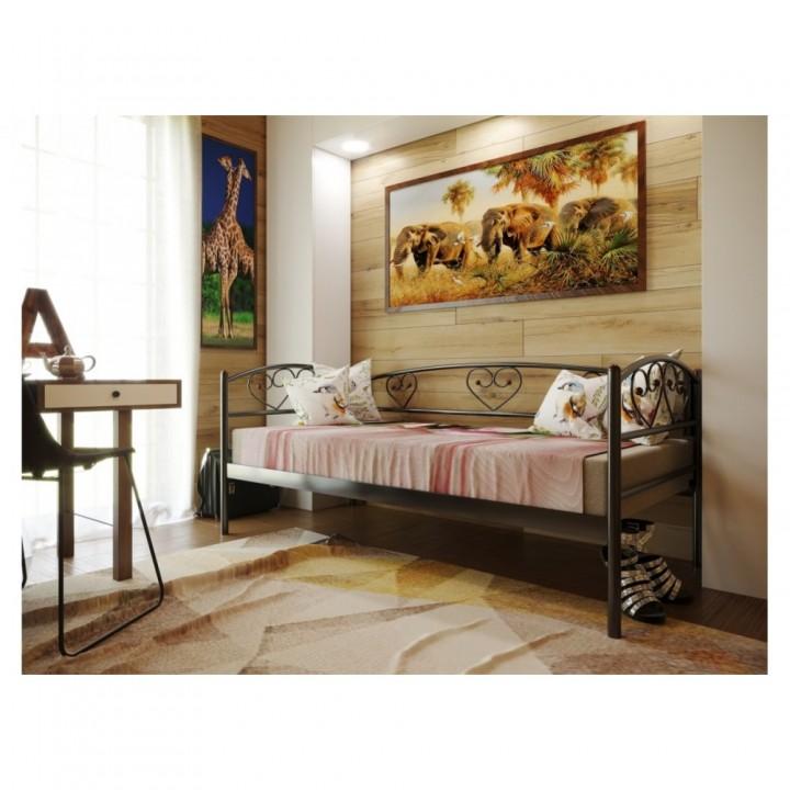205, Кровать Дарина Люкс, , 2 570.00 грн, Дарина Люкс, Метакам, Кровати металлические