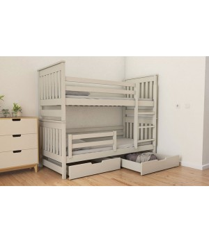 Кровать 2-х ярусная Адель Duo (массив)