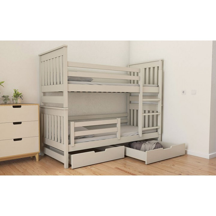 550, Кровать Адель Duo (массив), , 7 655.00 грн, Кровать Адель Duo (массив), , Кровати детские