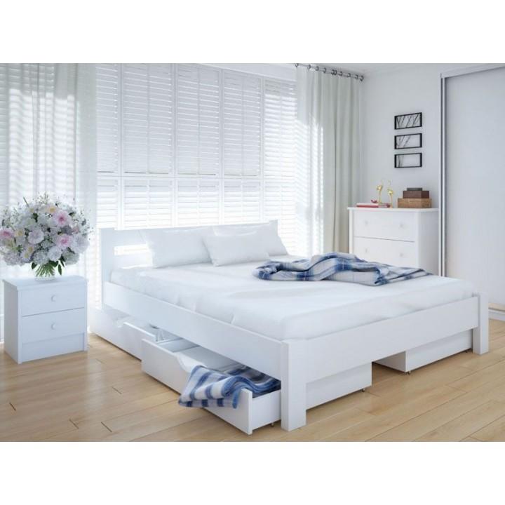 576, Кровать Эко, , 4 420.00 грн, Кровать Эко, Meblikoff, Кровати деревянные