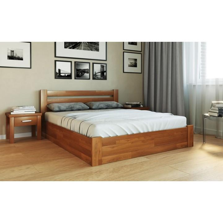 389, Кровать Жасмин, , 8 030.00 грн, Кровать Жасмин, ТМ Лев, Кровати деревянные