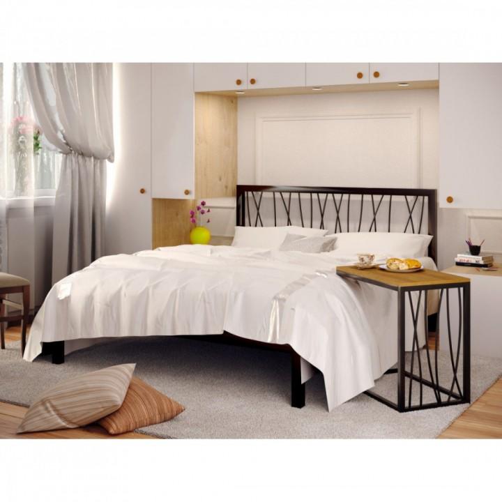 Кровать металлическая Бергамо