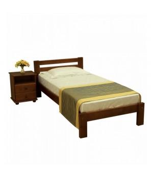 Кровать деревянная Л-107
