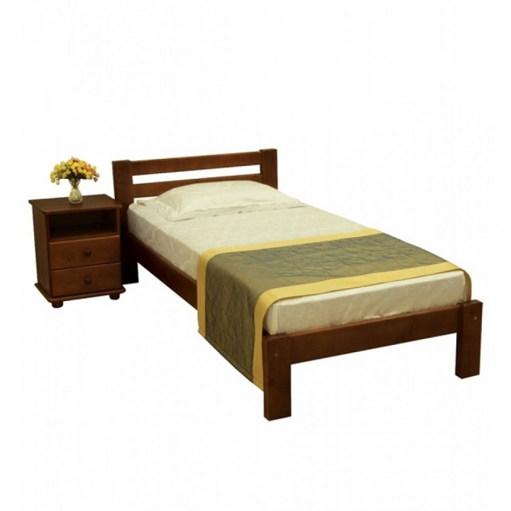 686, Кровать Л-107, , 2 939.00 грн, Кровать Л-107, Скиф, Кровати деревянные
