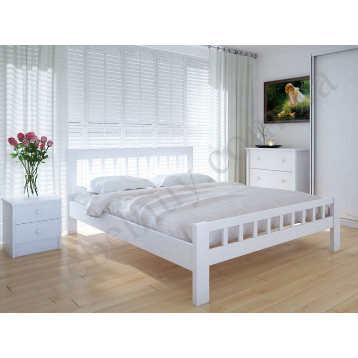 582, Кровать Луизиана, , 5 256.00 грн, Кровать Луизиана, Meblikoff, Кровати деревянные