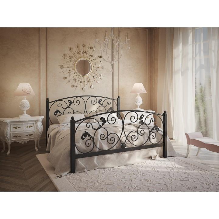 719, Кровать Магнолия, , 8 860.00 грн, Магнолия, TENERO, Кровати металлические