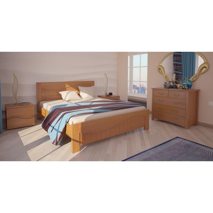 530, Кровать Марсель, , 6 734.00 грн, Кровать Марсель, ХМФ, Кровати деревянные