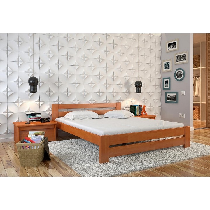 403, Кровать Симфония, , 3 911.00 грн, Кровать Симфония, ARBORDREV, Кровати деревянные