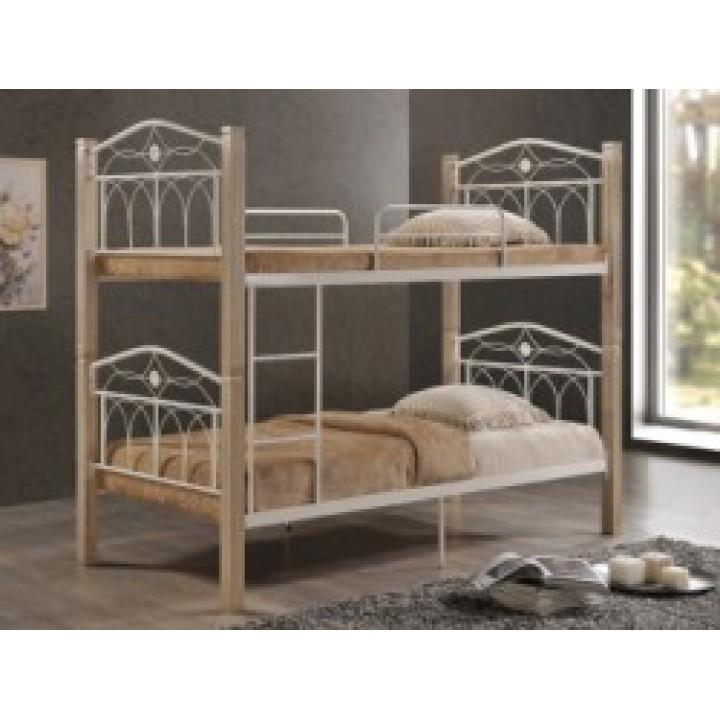 758, Кровать Миранда 2-х ярусная, , 5 350.00 грн, Миранда 2, Domini, Кровати двухъярусные