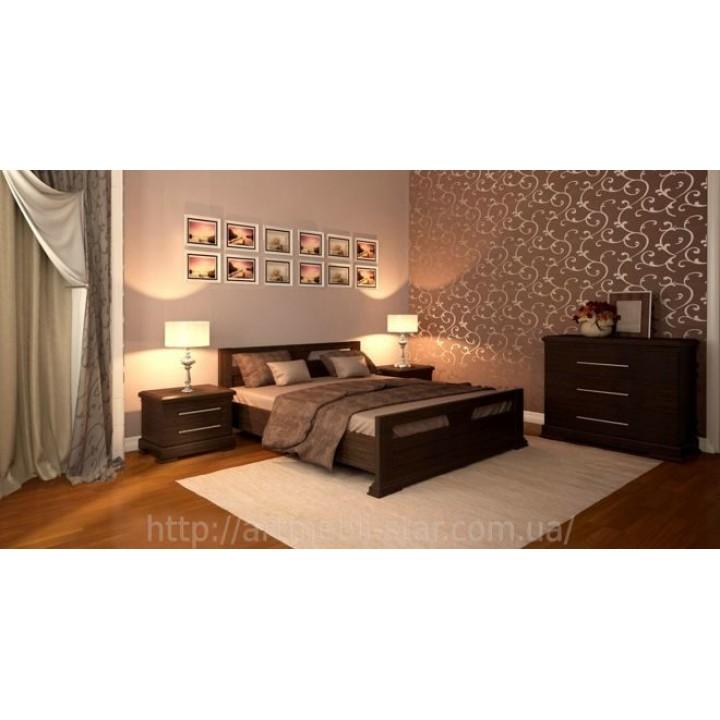 518, Кровать Модерн, , 9 120.00 грн, Кровать Модерн, ART mebli, Кровати деревянные