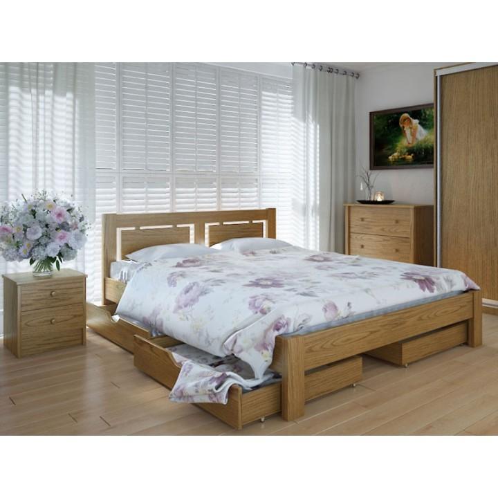 585, Кровать Пальмира, , 6 317.00 грн, Кровать Пальмира, Meblikoff, Кровати деревянные
